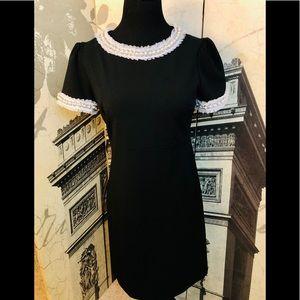 Super elegant black dress by Betsey Johnson